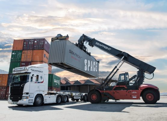 Seafront Global Logistics and port forwarding services Norway